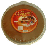 Soft Cake Layers, Dark, Round, 400g - Parthenon Foods