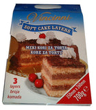 Soft Cake Layers, Light 700g - Parthenon Foods
