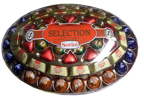 Selection Assorted Milk Chocolates (Sorini) 645g (22.75 oz) - Parthenon Foods