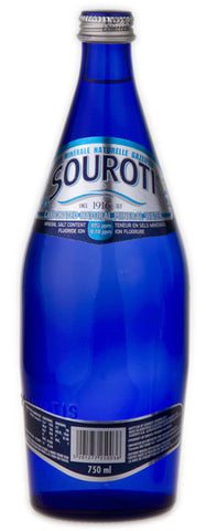 Souroti Sparkling Natural Mineral Water, 750ml - Parthenon Foods