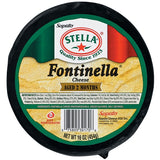 Fontinella Cheese (Stella) Full Moon, 16 oz (453g) - Parthenon Foods
