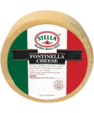 Fontinella Cheese (Stella) Wheel, approx. 12 lbs - Parthenon Foods