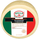 Kasseri Cheese (Stella) Wheel, Approx. 9.79 lb - Parthenon Foods
