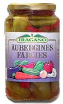 Pickled Stuffed Eggplants (Kostopoulos) 600g - Parthenon Foods