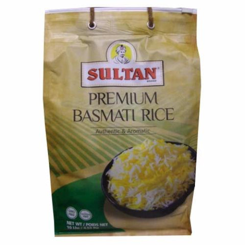 Basmati Rice (Sultan) 10lb - Parthenon Foods