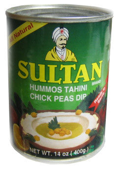 Chick Pea Dip, Hummos Tahini (sultan) 400g - Parthenon Foods