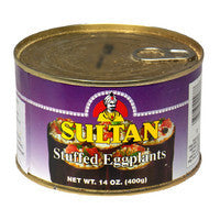 Stuffed Eggplant (sultan)  400g - Parthenon Foods