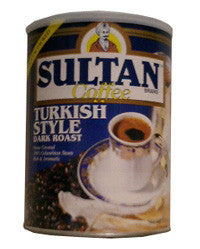 Turkish Style Dark Roast Coffee (Sultan), 14oz (400g) - Parthenon Foods