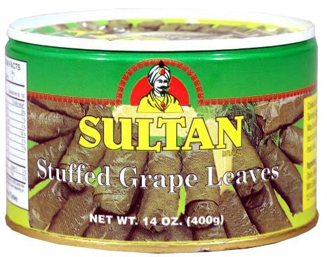 Stuffed Grape Leaves (Sultan) 400g - Parthenon Foods