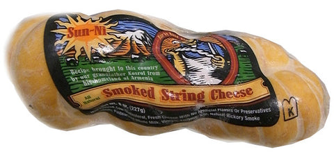 Smoked String Cheese (Sunni) 8 oz (227g) - Parthenon Foods