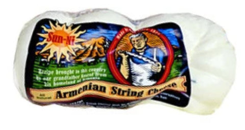 Armenian String Cheese (Sunni) approx. 0.8lb - Parthenon Foods  - 1