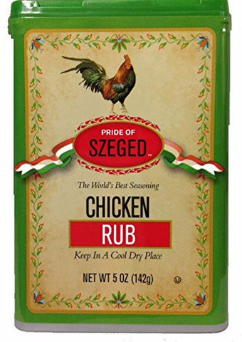 Chicken Rub Seasoning (szeged) 5 oz - Parthenon Foods