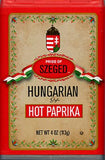 Hungarian Style Paprika, HOT, (Szeged) 4 oz - Parthenon Foods