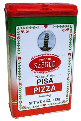 Pizza Seasoning (Szeged) 4 oz (113g) - Parthenon Foods