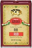 Rib Rub Seasoning (szeged) 5oz (142g) - Parthenon Foods
