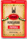 Hungarian Style Paprika, Sweet, (Szeged) 4 oz (113g) - Parthenon Foods