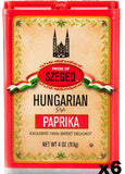 Hungarian Style Paprika, Sweet, (Szeged) CASE (6 x 4oz) - Parthenon Foods