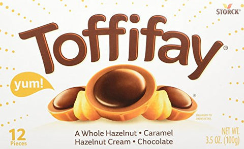 Toffifay Caramel Candies (Storck) 100 g (3.5 oz) - Parthenon Foods