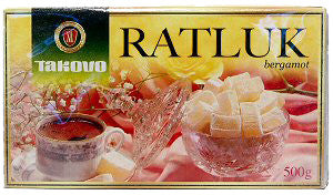 Ratluk Delight White Bergamot, 500g - Parthenon Foods