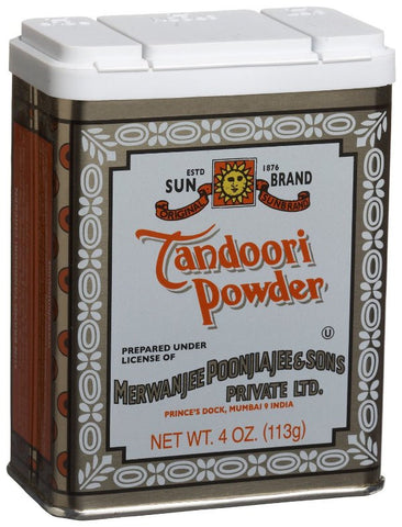 Tandoori Powder (SunBrand) 4 oz (113g) - Parthenon Foods