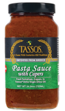 Pasta Sauce with Capers (Tassos) 24.34 oz - Parthenon Foods