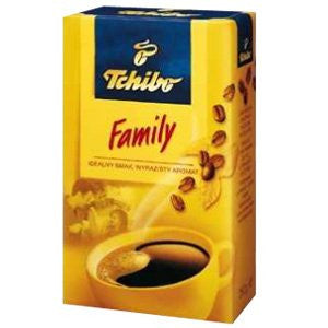 Tchibo Ground Coffee, FAMILY, 250g (8.8 oz) - Parthenon Foods