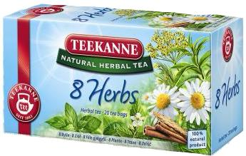 8 Herbs Mountain Tea (Teekanne) 20 tea bags - Parthenon Foods