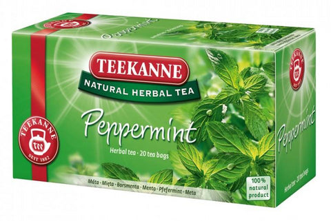 Peppermint Herbal Tea (Teekanne) 45g - Parthenon Foods
