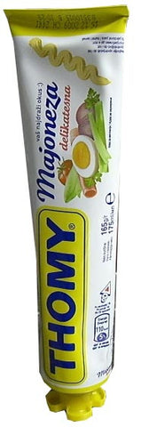 Majoneza THOMY 165g (174ml) Tube - Parthenon Foods