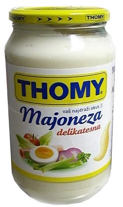 Majoneza THOMY 611g (650 ml) - Parthenon Foods