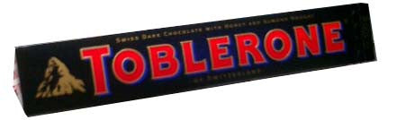 Toblerone Dark Chocolate, 100g - Parthenon Foods