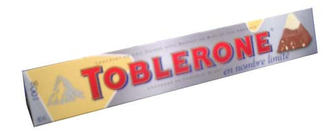 Toblerone Milk and White Chocolate, Snow Top, 100g - Parthenon Foods
