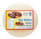 Tort Wafers 6 sheets, ROUND (S&F) 100g (3.5 oz) - Parthenon Foods