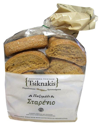 Bread Rusks, Wheat (Tsiknakis) 700g (24.7 oz) - Parthenon Foods