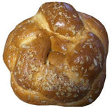 Greek Sweet Bread, Round, Tsoureki, 1lb with Almonds - Parthenon Foods