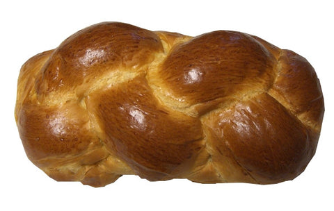 Greek Sweet Bread, Tsoureki 1lb, Long, Plain - Parthenon Foods