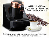 Automatic Turkish/Greek Coffee Machine, Black - Parthenon Foods