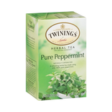 Twinings Pure Peppermint Herbal Tea, 1.41 Ounce Box - Parthenon Foods