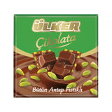 Milk Chocolate with Pistachios (Ulker) 2.82 oz (80g) - Parthenon Foods