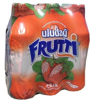 Frutti Strawberry (Uludag) 6 pack Bottles - Parthenon Foods
