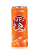 Uludag Gazoz, Portakalli (Orange) 330ml can - Parthenon Foods