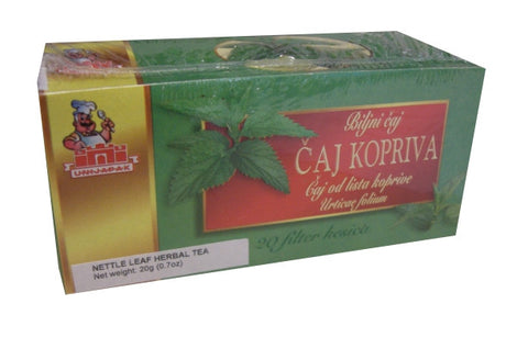 Kopriva, Nettle Tea (Unijapak) 20g - Parthenon Foods