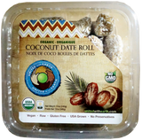 Organic Coconut Roll Dates (United with Earth) 12 oz - Parthenon Foods