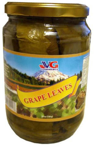 Grape Leaves from Bulgaria (VG) 25 oz (720g) - Parthenon Foods