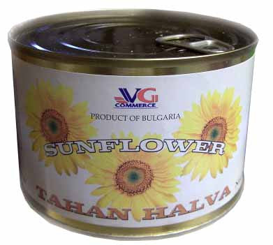 Sunflower Seed Tahan Halva (VG) 15 oz (420g) - Parthenon Foods
