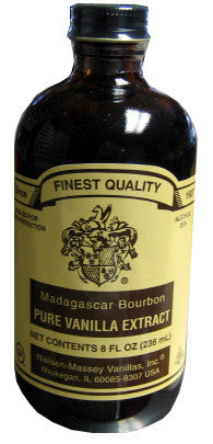 Vanilla Extract, Pure (Madagascar) 8 fl.oz. - Parthenon Foods