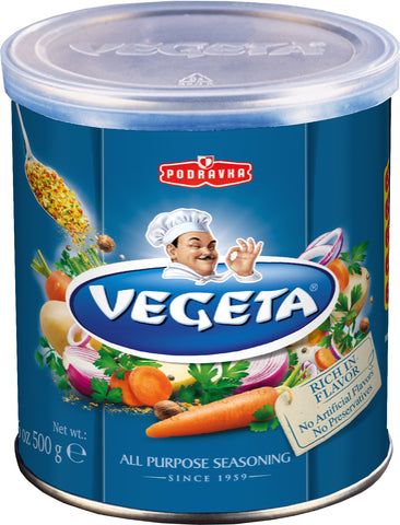 Vegeta, Gourmet Seasoning and Soup Mix, 500g can - Parthenon Foods