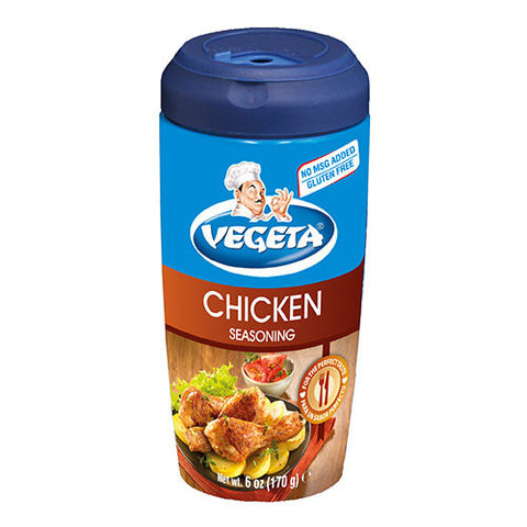 Vegeta, Seasoning Mix for Chicken, 6oz shaker - Parthenon Foods