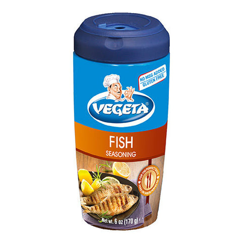 Vegeta, Seasoning Mix for Fish, 6oz shaker - Parthenon Foods