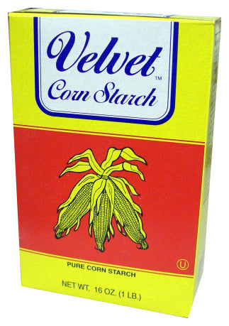 Corn Starch, Gussnel (Velvet) 16 oz (1 lb) - Parthenon Foods